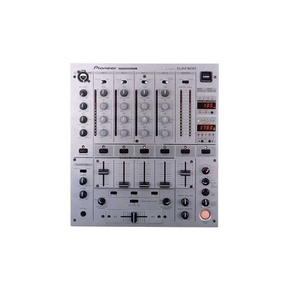 Pioneer ザ・プロフェッショナル・ディージェーミキサー DJM-600 DJミキサ|happystorefujioka