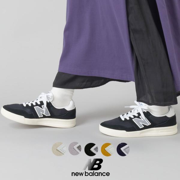 ニューバランス New Balance  NB CRT300 E2 T2 O2 B2 I2  レディース シューズ 靴 スニーカー 軽量 コートモデル Nロゴ