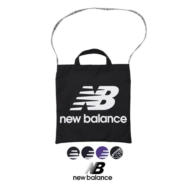 ニューバランス New Balance NB マルチトートバック JABL8704 BK PGM PRV BKM  NBロゴ ショルダーバッグ