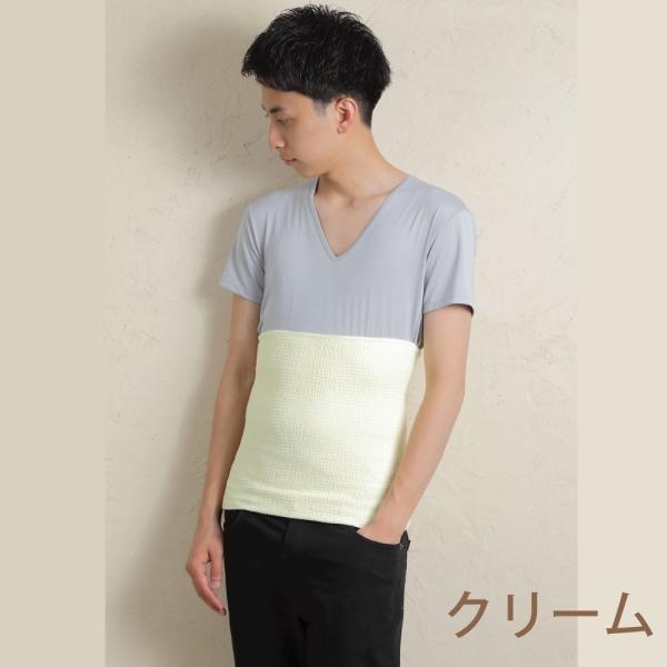 腹巻 綿 ウエーブ はらまき 日本製 夏 薄手 男女兼用 メンズ レディース 保温 温活|haramakiya|09