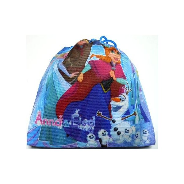 お菓子 駄菓子の詰め合わせ アナと雪の女王 巾着袋入り 100円 卒園 卒業 こどもの日