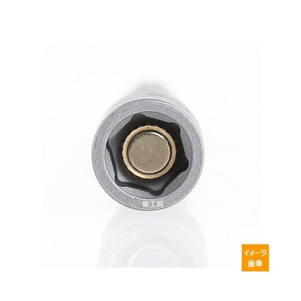 在庫あり メール便可 HKC マグネット付き ナットセッター 3/8 (9.6 mm) x 全長 100mm (M6ミリ用)|haratool|02