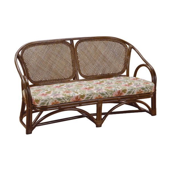 2人掛け籐ソファ 幅137cm y42b 籐家具 籐 ラタン家具 ラタン 椅子 チェア ソファー ソファ 籐椅子 2人掛け
