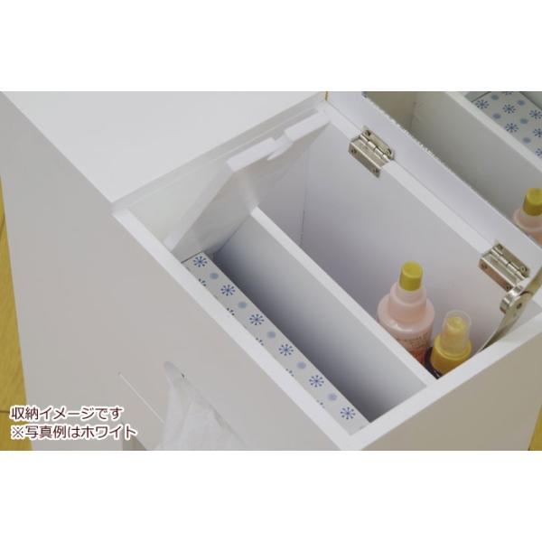 アクセサリーケース 多収納 スリム コスメボックス ワゴン ホワイト 鏡台 ミラー ドレッサー チェスト かわいい おしゃれ 化粧台 メイクボックス|harda-kagu|04