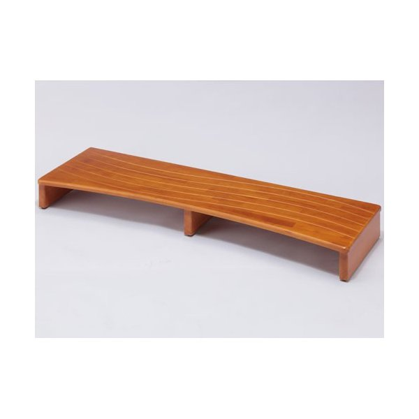 玄関台 幅120cm ブラウン 木製ステップ 玄関用 台 踏み台 玄関 ステップ 段差 軽減 靴 補助具 足場 完成品 洗面台 子供 ステップボード 介護 高齢者