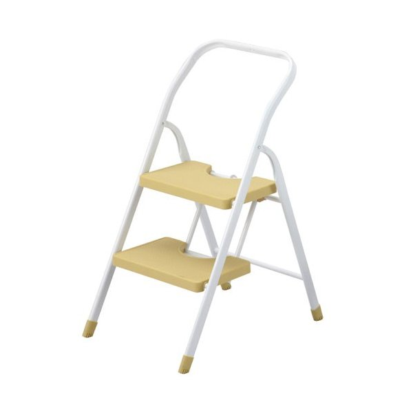 折りたたみステップチェア 2段 2段チェア ステップ 台 ステップチェア ステップチェアー 梯子 踏み台 踏台 椅子 イス いす チェア チェアー 折り畳み おりたたみ