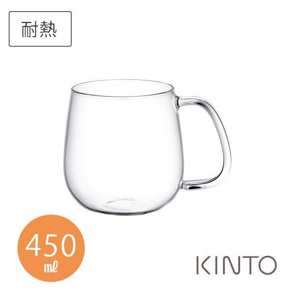 キントーKINTOユニティーカップMガラス450mlクリアUNITEAギフト袋対象