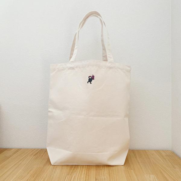 茨城県常陸太田市公式キャラクター「じょうづるさん」トートバッグ 大 ゆるきゃら ご当地キャラ 子育て オリジナル 限定商品