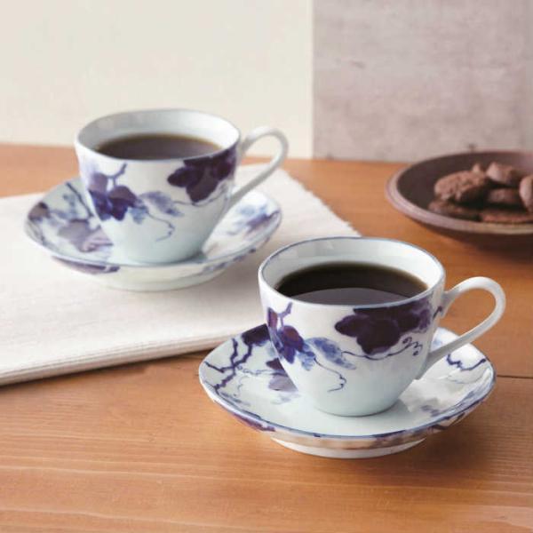藍染ぶどう コーヒーペア AM1-96-1 記念品 景品 法事 香典返し