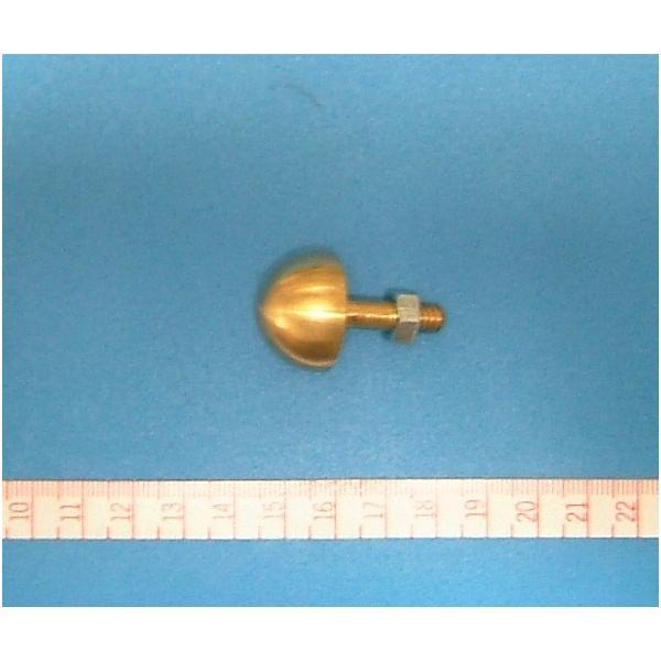 【アートフラワー材料】こて先玉 8 分(24mm)ネジ込み式