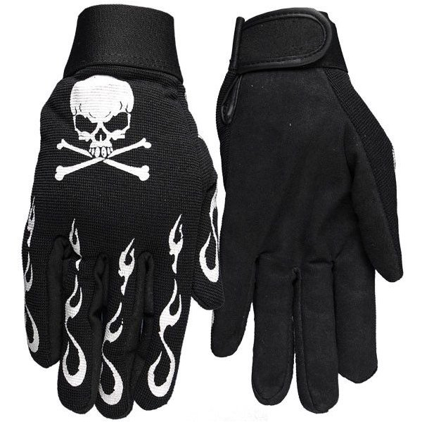 Skull & Crossbones Mechanics Gloves(スカル)