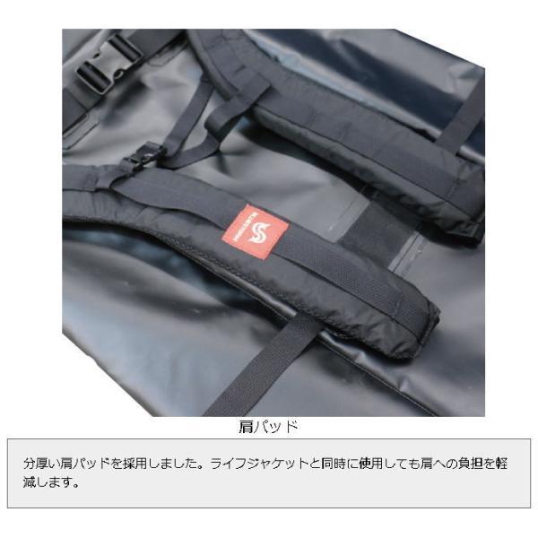 ブルーストーム ドライバッグL 60L ブラック BLUESTORM BSJ-TPB1 Dry Bag L 60L Black|haroweb2|07