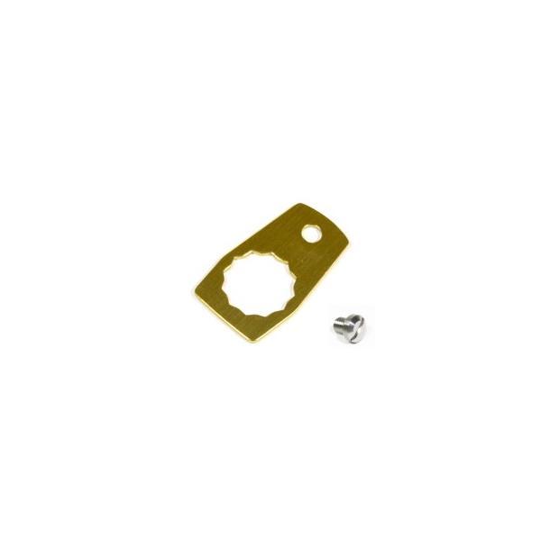 アベイル 12.5mmアルミ製リテーナー+チタン64製リテーナー固定用ビス セット|haroweb2