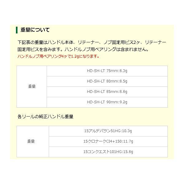 アベイル シマノ用 オフセットハンドル LT Avail HD-SH-LT haroweb2 06