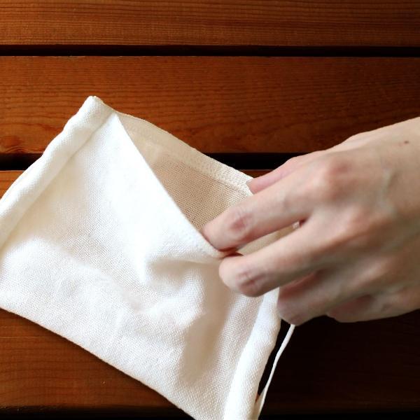 布マスク 日本製 オーガニック 抗菌 ガーゼマスク 【 今治 綿マスク ガーゼ 在庫あり 洗える ポケット付き 綿 コットン 男女兼用 】 hartwell-towel 02