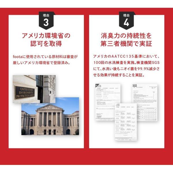 消臭 3Dインソール(中敷き) 足の臭い対策 foota haruchisyoutengai 12
