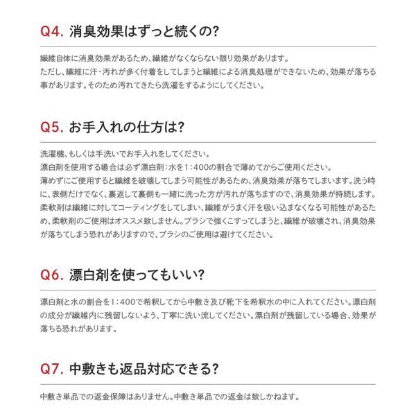 消臭 3Dインソール(中敷き) 足の臭い対策 foota haruchisyoutengai 15