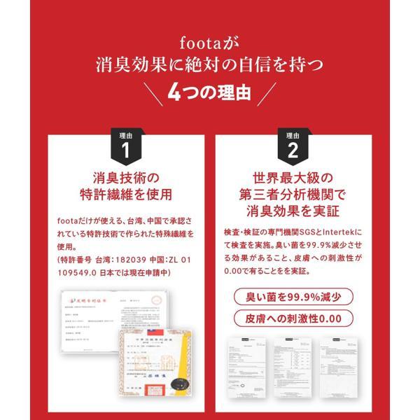 消臭 靴下 スニーカー丈ソックス 足の臭い対策 foota|haruchisyoutengai|07