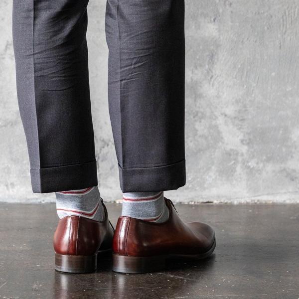 5足組 カジュアル ソックス アウトドア ビジネス スポーツ 柄 靴下 大きいサイズ メンズ 25 ~ 29 cm オシャレ セット 通年|harusaku|15