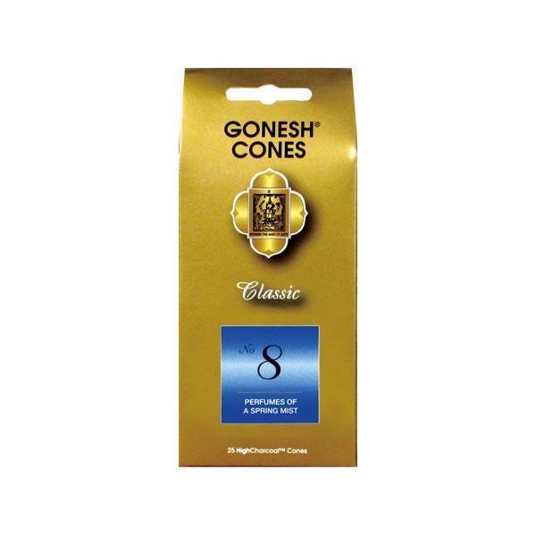 ★ネコポス対応★ GONESH インセンス コーン No.8 お香|harvestmarket