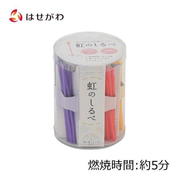 キャンドル ろうそく ペット お供え 「P 香り付ローソク 虹のしるべ」お仏壇のはせがわ