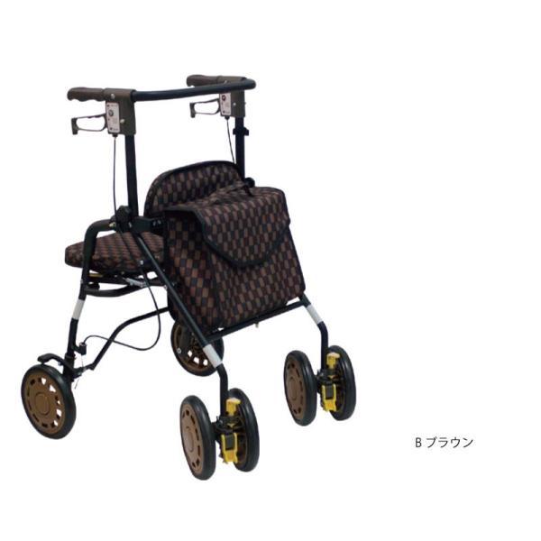 歩行車 歩行器 折りたたみ 軽量 SGマーク シンフォニー EVO 島製作所 高齢者用 介護 リハビリ hashbaby 05