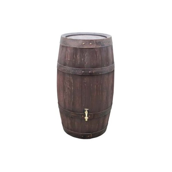 雨水 タンク 貯留 貯水  おしゃれ 家庭用 バリーク 取水器+蛇口セット 送料無料 エコライフ