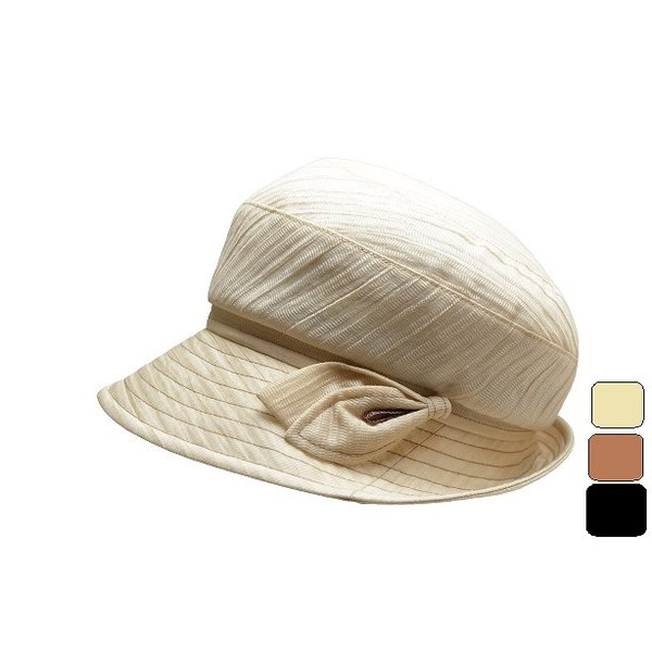 ハットレディースUVカット春夏キャスケット麻混マッシュルームカレンダーワッシャー散歩旅行母の日女性帽子婦人帽子18506