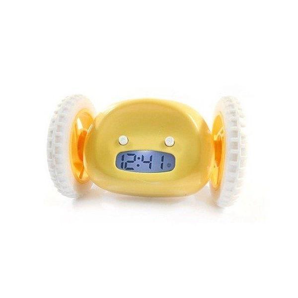 ロボットアラーム 走り回るわたしを捕まえて 楽しい朝が始まる おもしろい 目覚まし時計|hatano-store|02