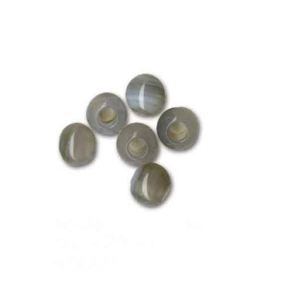 メルヘンアート パワーストーン 丸玉6mmタイプ グレーアゲート 3パックセットのお値段です 種類をお選びください 手芸 手作り 洋裁