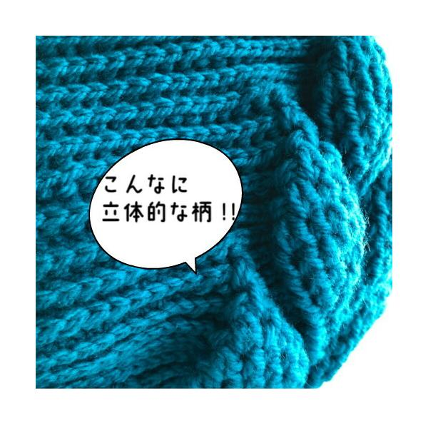 編み物キット ボニーで編む リーフ柄の引き上げ編みバッグ 9玉セット ハマナカ ネコポス2通|hatawa-koko|05