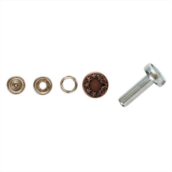 SUNCOCCOH サンコッコー ジーンズスナップボタン 15mm 3パックセットのお値段です 手芸 手作り 洋裁