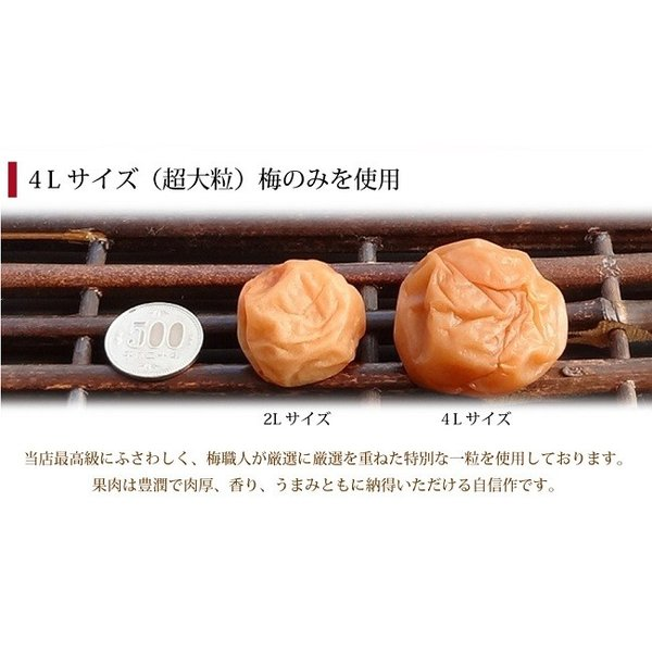 お中元 梅干し ギフト 贈答用 最高級個別包装の梅干し 大粒12粒 塩分約7%|hatenasi|05