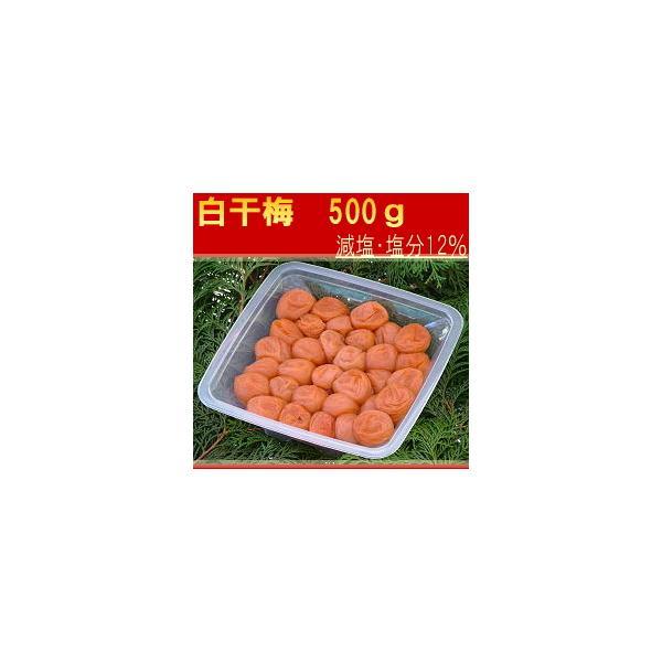 梅干し 酸っぱい梅干し 特選2Lサイズ はてなしシリーズ 白干梅(しらぼしうめ) (塩分12%) 500g|hatenasi
