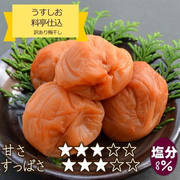 梅干し 訳あり 1kg(1000g) はちみつ梅、うすしお梅、まろやか梅の3種から選べる(わけあり、つぶれ梅) hatenasi 04