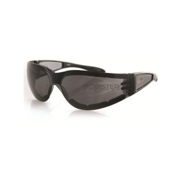 Shield II Sunglasses Black//Smoke Lens Bobster ESH201