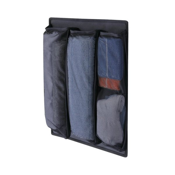 ダイヤ 収納名人 ブラック (収納 スーツケース) <|hatsumei-net|03