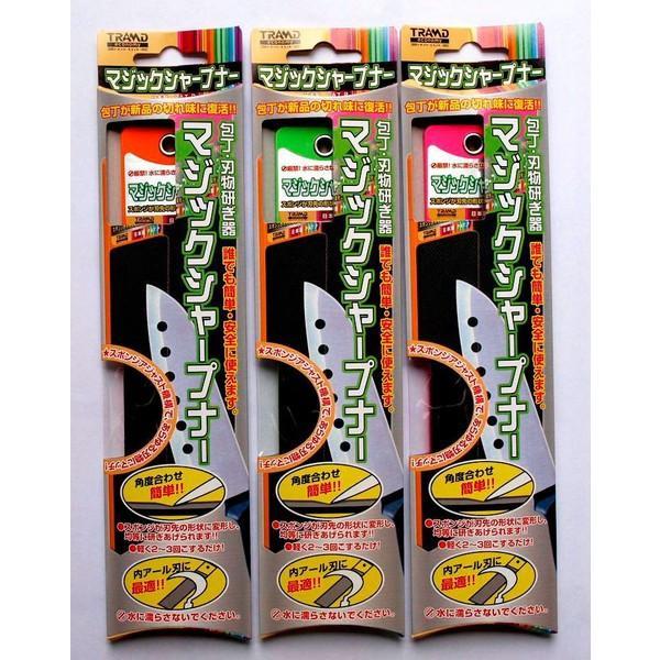 包丁・刃物研ぎ器 マジックシャープナー (砥石) ※送料¥250(3個まで) hatsumei-net 04