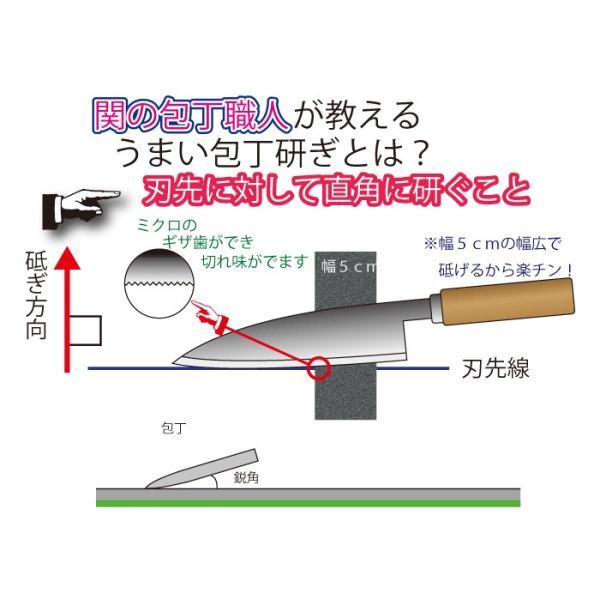 包丁・刃物研ぎ器 マジックシャープナー (砥石) ※送料¥250(3個まで) hatsumei-net 05
