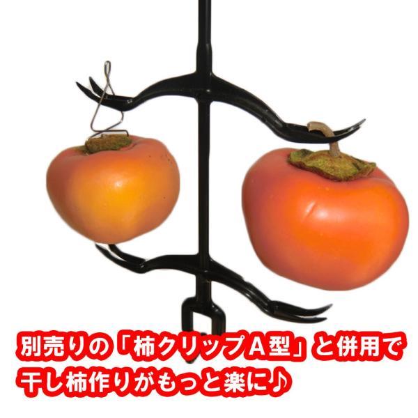 柿ハンガー 5本入り(干し柿)|hatsumei-net|03