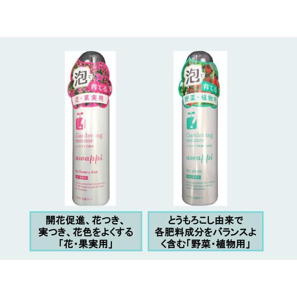 awappi 泡で出てくる簡単液肥 110g (あわっぴ 100回分)|hatsumei-net|04