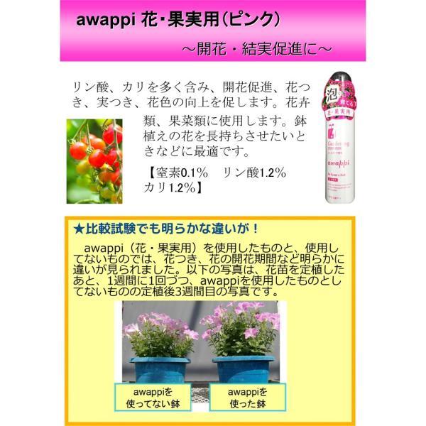 awappi 泡で出てくる簡単液肥 110g (あわっぴ 100回分)|hatsumei-net|05