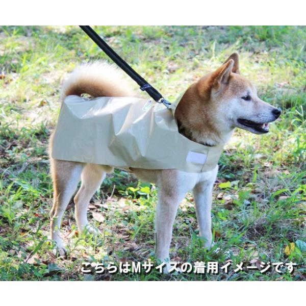 DogWrap/ドッグラップ (Mサイズ) 犬用レインコート3着入り ※送料¥250(4個まで) 使い切り レインウェア カッパ |hatsumei-net|02