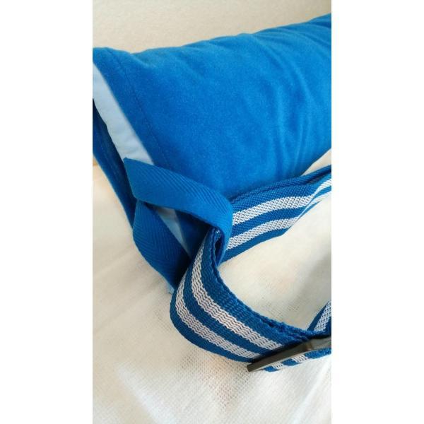 お助けくん(拘縮 腋下の床ずれ予防 固定式 抱きまくら)|hatsumei-net|07