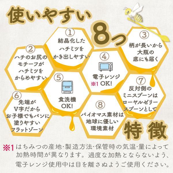 世界で一番使いやすい はちみつスプーン 送料¥250(4個まで) 蜂蜜 ハニーディッパー|hatsumei-net|03