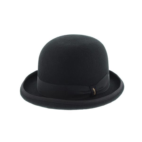 ダービー 17 ハット 57-60cm ウール100% 春 夏 秋 冬 BLACK NAVY RED|hatter-knowledge|02