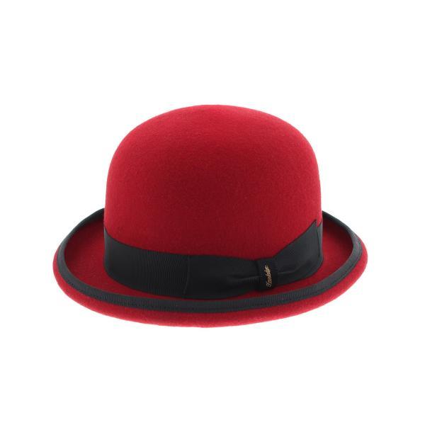 ダービー 17 ハット 57-60cm ウール100% 春 夏 秋 冬 BLACK NAVY RED|hatter-knowledge|05