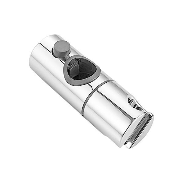 adunluluシャワーフック部品修理交換用360°自由回転シャワーヘッドホルダー28~32mmスライドバーに対応