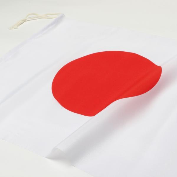 日本国旗 手旗 34x27cm 金巾(綿100%)|hattoribana|02