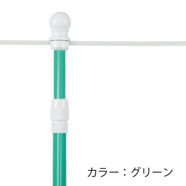 のぼりポール 2段伸縮のぼりポール 3M 選べる横棒サイズ 日本製 スタイリッシュ 1本単価295円 5本セット|hattoribana|09
